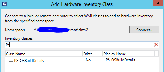 Custom Windows 10 OS Build Number WMI Classes and reporting